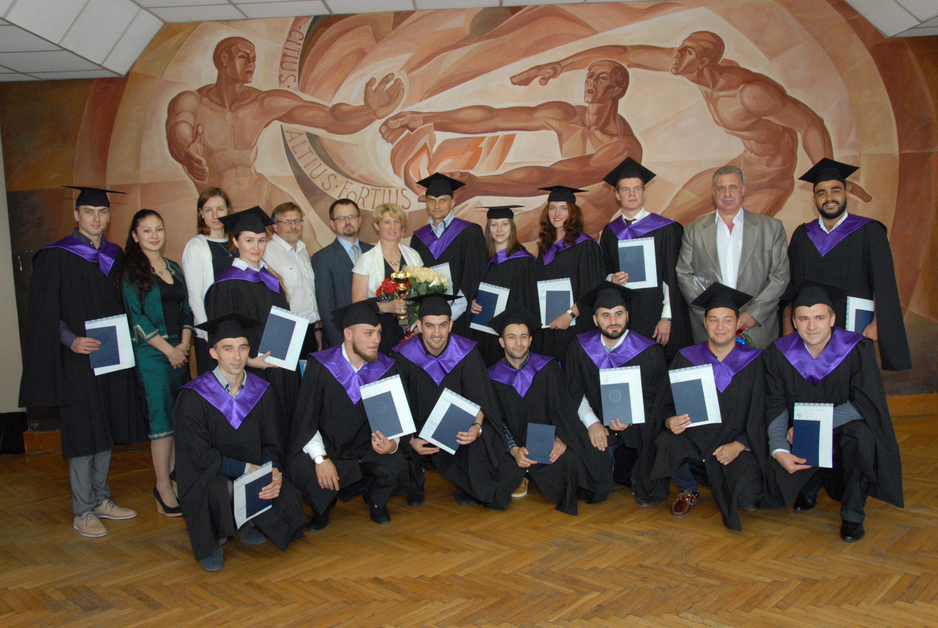 аспирантам РГУФКСМиТ впервые выданы дипломы и присвоена  Впервые в истории РГУФКСМиТ мы вручаем дипломы нашим аспирантам Вы прошли все ступени обучения и официально получили статус исследователя