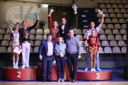 Проректор ГЦОЛИФК, член Попечительского совета Всероссийской федерации акробатического рок-н-ролла Максим Ковылин принял участие в церемонии награждения победителей и призеров Всероссийских соревнований по акробатическому рок-н-роллу