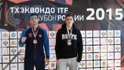 Студенты РГУФКСМиТ – призеры Кубка России 2015 года по тхэквондо ITF