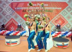 Сборная РГУФКСМиТ по фитнес-аэробике – лучшая на Всероссийских соревнованиях среди студентов