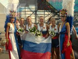 Поздравляем студенток ГЦОЛИФК занявших 1 место в 7-ом Чемпионате Европы по академической гребле среди студентов