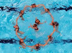 Студентки РГУФКСМиТ стали чемпионами Кубка России по синхронному плаванию