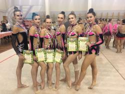 Сборная РГУФКСМиТ по художественной гимнастике стала третьей на чемпионате в Санкт-Петербурге