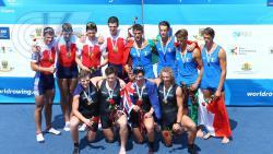 Студент РГУФКСМиТ стал серебряным призером первенства мира по академической гребле U23