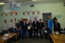 В РГУФКСМиТ прошел II чемпионат университета по шашкам среди сотрудников и студентов
