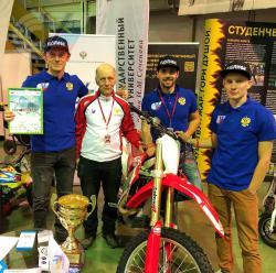 Представители РГУФКСМиТ приняли участие в выставке Motorsport Expo 2017 Next