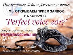 «Perfect voice – 2017»: все, что нужно знать о главном вокальном конкурсе РГУФКСМиТ