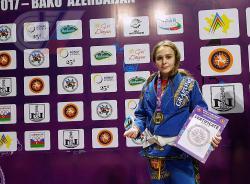 Первокурсница РГУФКСМиТ победила на первенстве мира по грэпплингу