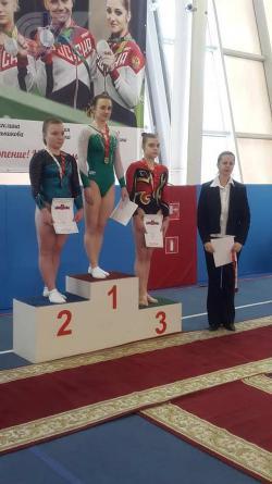 Студентки РГУФКСМиТ завоевали пять медалей на чемпионате Москвы по спортивной гимнастике