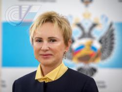 Поздравление ректора РГУФКСМиТ Тамары Михайловой с Днем физкультурника