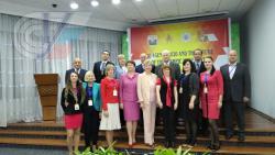 Представители РГУФКСМиТ на конференции в Баку рассказали о приобщении россиян к олимпийским ценностям