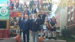 Сборная РГУФКСМиТ по тяжелой атлетике стала третьей среди вузов Москвы
