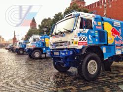 Международное ралли «Шёлковый путь» стартовало на Красной площади столицы