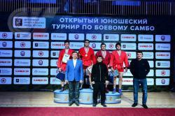 RSUPESY&T freshman   won the All-Russian Combat Sambo Tournament