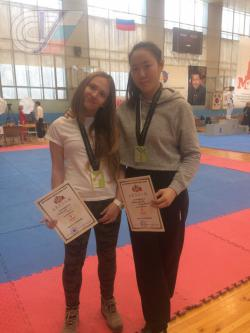 Студентки РГУФКСМиТ завоевали первые места на всероссийском турнире по тхэквондо памяти Рината Садыкова