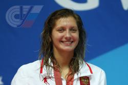 RSUPESY&T student won the Russian swimming championship with a record of the country