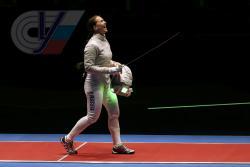 Выпускница РГУФКСМиТ, саблистка Софья Великая выиграла «золото» в командных соревнованиях среди женщин на XXXI летних Олимпийских игр в Рио-де-Жанейро