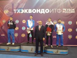 Студент РГУФКСМиТ стал победителем Кубка России по тхэквондо ИТФ