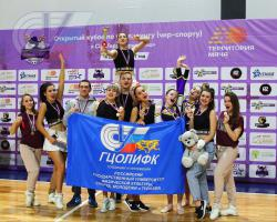 Команда РГУФКСМиТ «Fire stars» завоевала четыре награды на кубке по чир-спорту