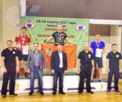 Три медали привезли студенты РГУФКСМиТ с чемпионата России по панкратиону