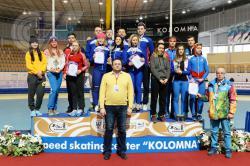 Поздравляем РГУФКСМиТ с третьим местом в IV Всероссийской зимней Универсиаде по конькобежному спорту
