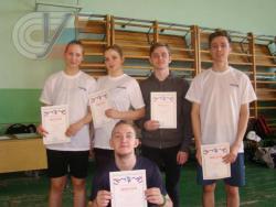 Сборная РГУФКСМиТ стала третьей на чемпионате по бадминтону среди студентов Москвы