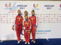 Выпускники РГУФКСМиТ принесли сборной России золото и серебро на Всемирных играх