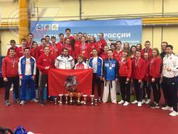 Студенты РГУФКСМиТ стали сильнейшими тхэквондистами России