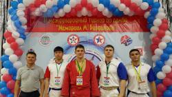 Студент и аспирант РГУФКСМиТ привезли призы с международного турнира по самбо