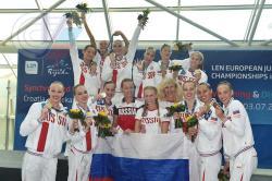 Студентка РГУФКСМиТ завоевала две золотые медали первенства Европы по синхронному плаванию среди юниоров