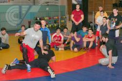 В РГУФКСМиТ прошел мастер-класс по вольной борьбе олимпийского чемпиона Хаджимурада Магомедова