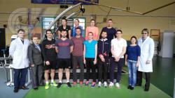 В НИИ спорта РГУФКСМиТ провели комплексное обследование сборной команды России по бадминтону