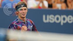 Студент РГУФКСМиТ Андрей Рублев впервые в карьере вышел в 1/8 финала турнира Большого шлема