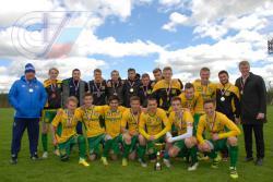 Сборная РГУФКСМиТ по футболу стала чемпионом XXIX Московских студенческих спортивных игр
