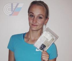 Магистрантка РГУФКСМиТ легкоатлетка Ольга Муллина получила бриллиант за победу в международном турнире в Швейцарии