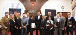 Спортсменов РГУФКСМиТ наградили Благодарственными письмами Мэра Москвы