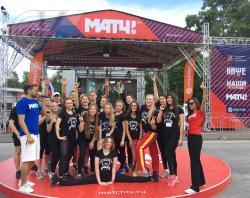 Александр Овечкин, Аделина Сотникова, Виктор Ан и студенты РГУФКСМиТ провели зарядку в эфире «Матч ТВ»