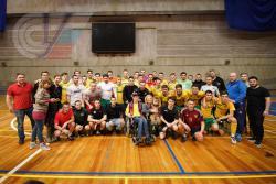 Футболисты РГУФКСМиТ сыграли вничью со звездами российского футбола под руководством Алексея Березуцкого
