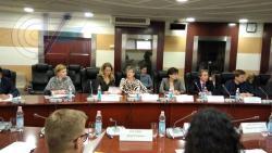 Профессор РГУФКСМиТ Наталия Мельникова выступила с докладом на круглом столе в МГИМО