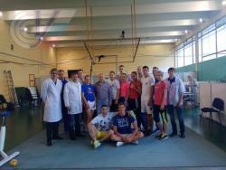Победитель и призеры чемпионата мира по тхэквондо ВТФ прошли комплексное обследование в НИИ спорта РГУФКСМиТ