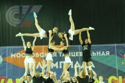 Команда РГУФКСМиТ по чир спорту стала вице-чемпионом соревнований РССС