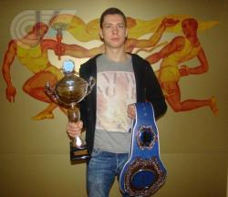 Поздравляем студента РГУФКСМиТ Вячеслава Щербакова с победой на чемпионате мира по кикбоксингу