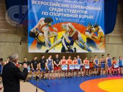 Спортсмены РГУФКСМиТ достойно выступили на Всероссийских соревнованиях среди студентов по спортивной борьбе