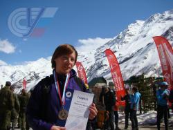 Студентка РГУФКСМиТ Ирина Федянина стала бронзовым призером Чемпионата России по ски-альпинизму