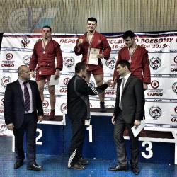 Михаил Удовидченко победитель Первенства России по боевому самбо