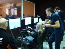 В РГУФКСМиТ стартовал первый в истории турнир по автомобильному двоеборью
