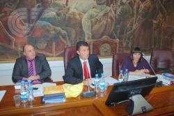 Ректор ГЦОЛИФК  А.Н. Блеер на заседании Комиссии по спортивному праву