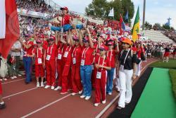 ГЦОЛИФК на Всемирной Гимнастраде в Лозанне