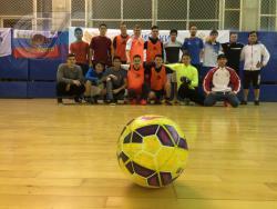 Первый футбольный матч года среди сотрудников, аспирантов и магистрантов прошел в РГУФКСМиТ
