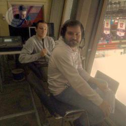 Студент РГУФКСМиТ стал комментатором матча Молодёжной хоккейной лиги